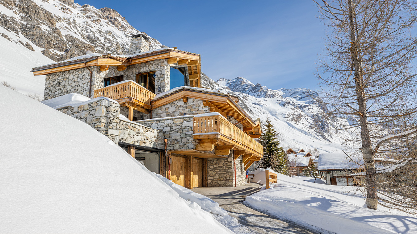 Reportage photo immobilier val d'isère luxe 12